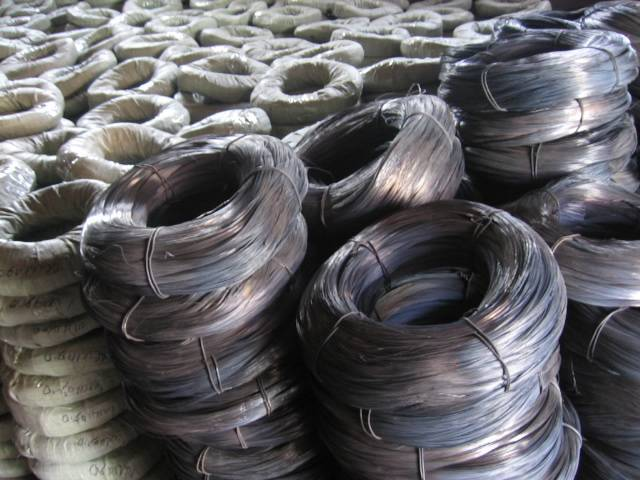 Black Annealed Wire : Black annealed binding wire twist various sizes for