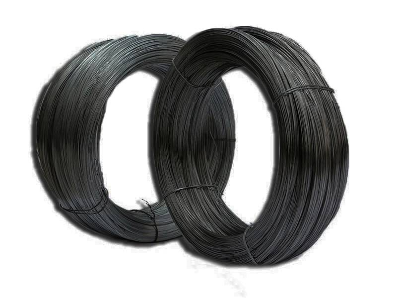 Binding wire galvanized and pvc binding wire for tying two rolls of black binding wire on the white background keyboard keysfo Choice Image