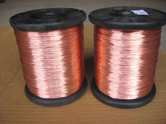 Metal Wire Spools : Copper wire specifications features type and application