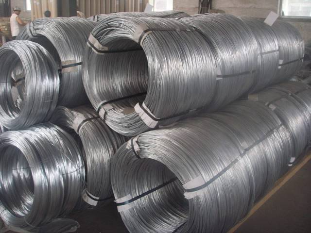 Galvanized Wire Hot Dipped Electro Galvanized Used As