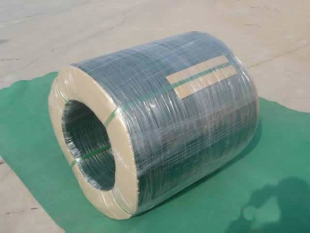 Pvc Coil Cable : Pvc wire made to cut u type loop and